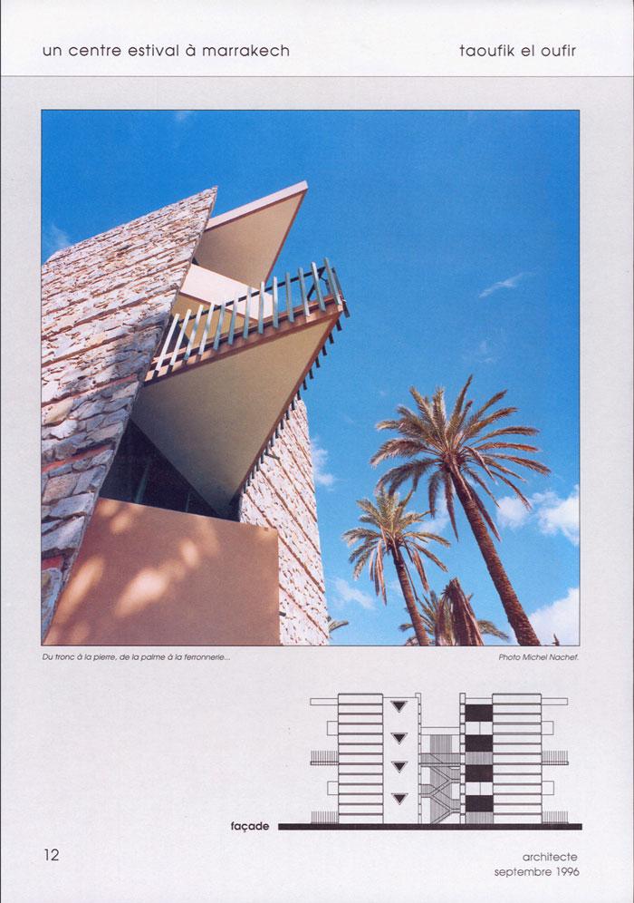 Architecte N°2-09-1996