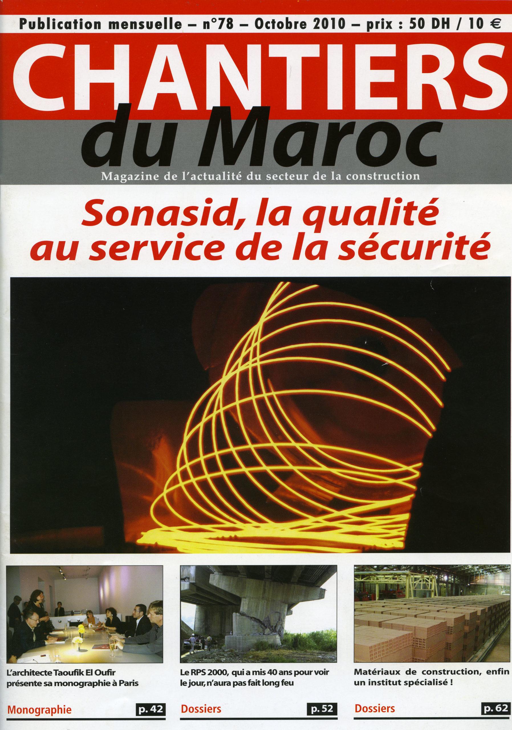 Chantier du Maroc n°78 10-2010