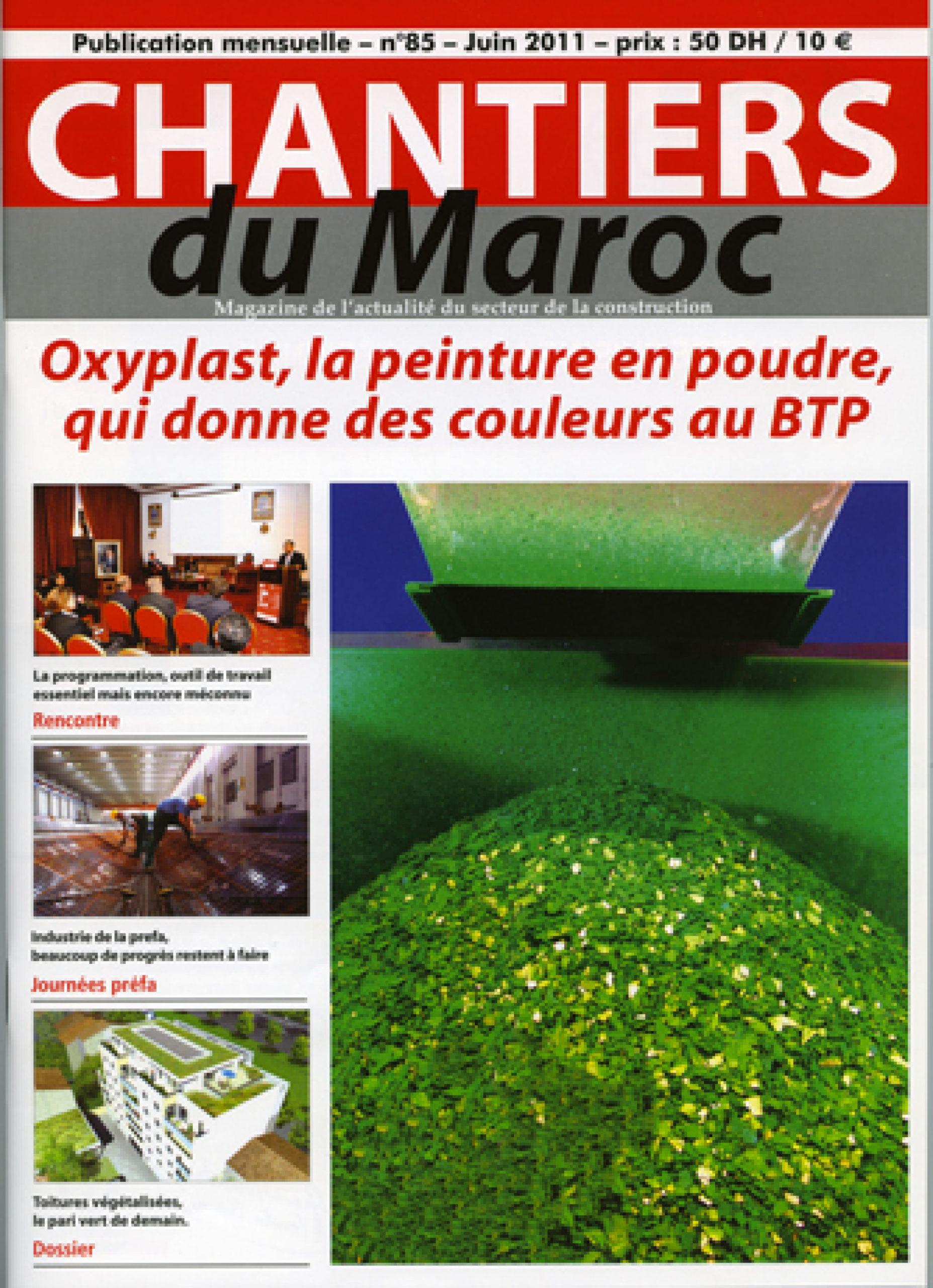 Chantier du Maroc N°85 06-2011