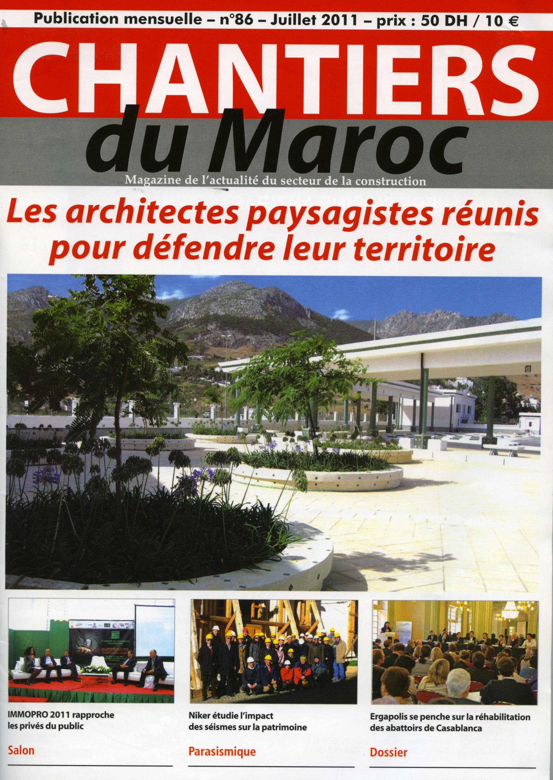 Chantier du Maroc N°86 07-2011