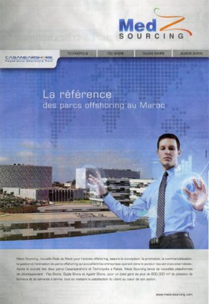 L' Economiste 16-01-2012