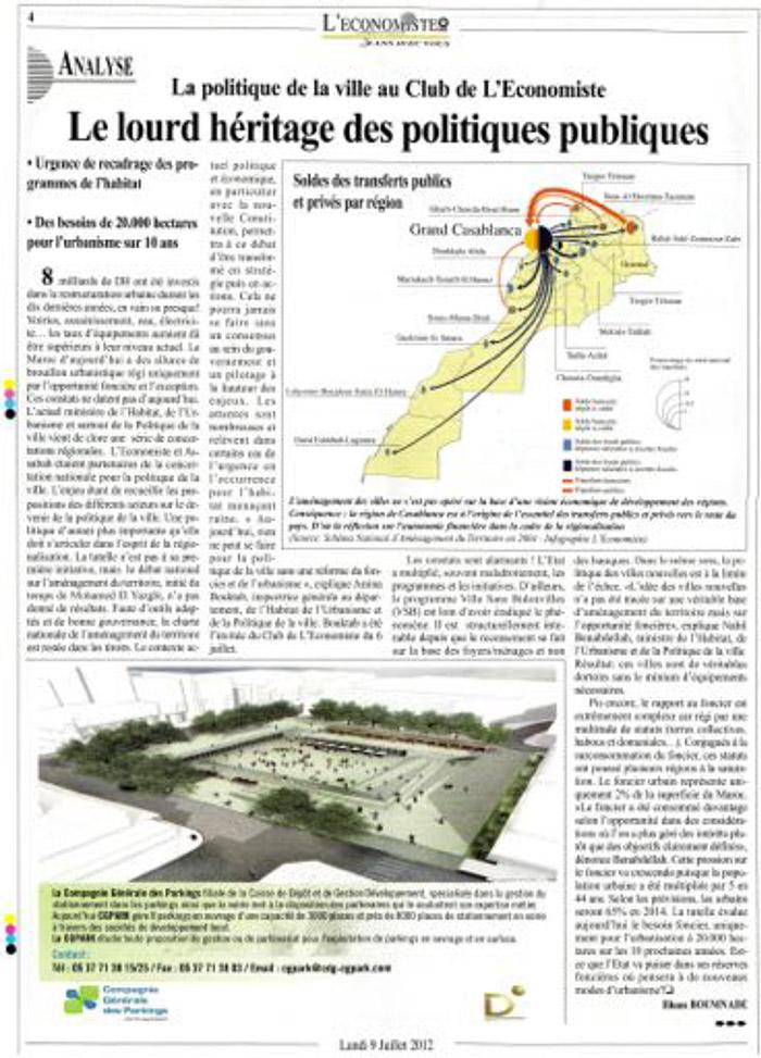 L'Economiste 09-07- 2012