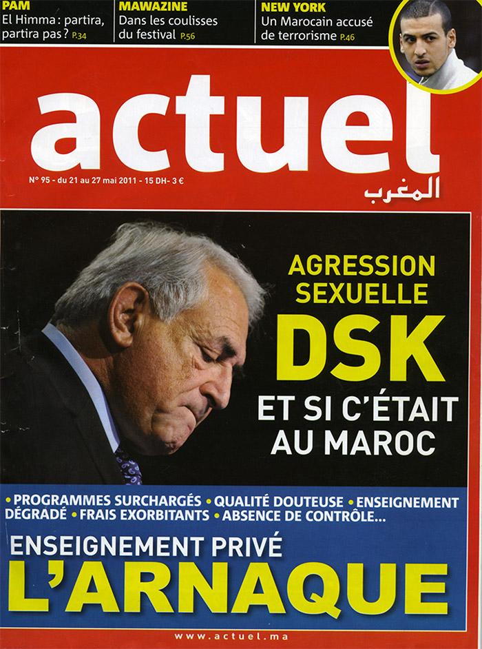 Actuel N°95  21-05-2011