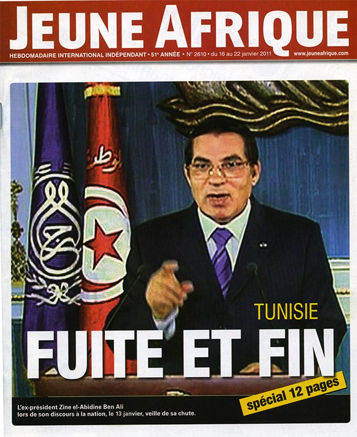 Jeune Afrique 16-01-2011