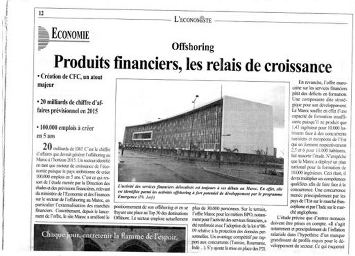 L'Economiste 03-02-2011