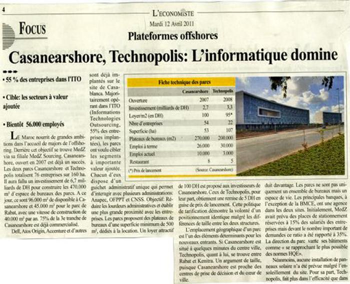 L'Economiste 12-04-2011